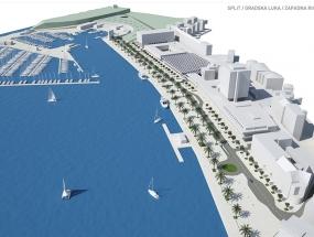 Split - Gradska luka - Zapadna riva